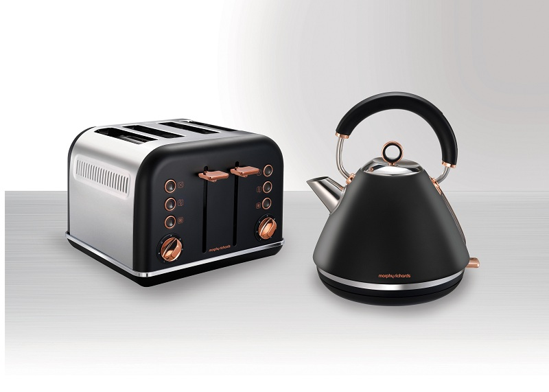 Morphy Richards 102104 Rose Gold Black